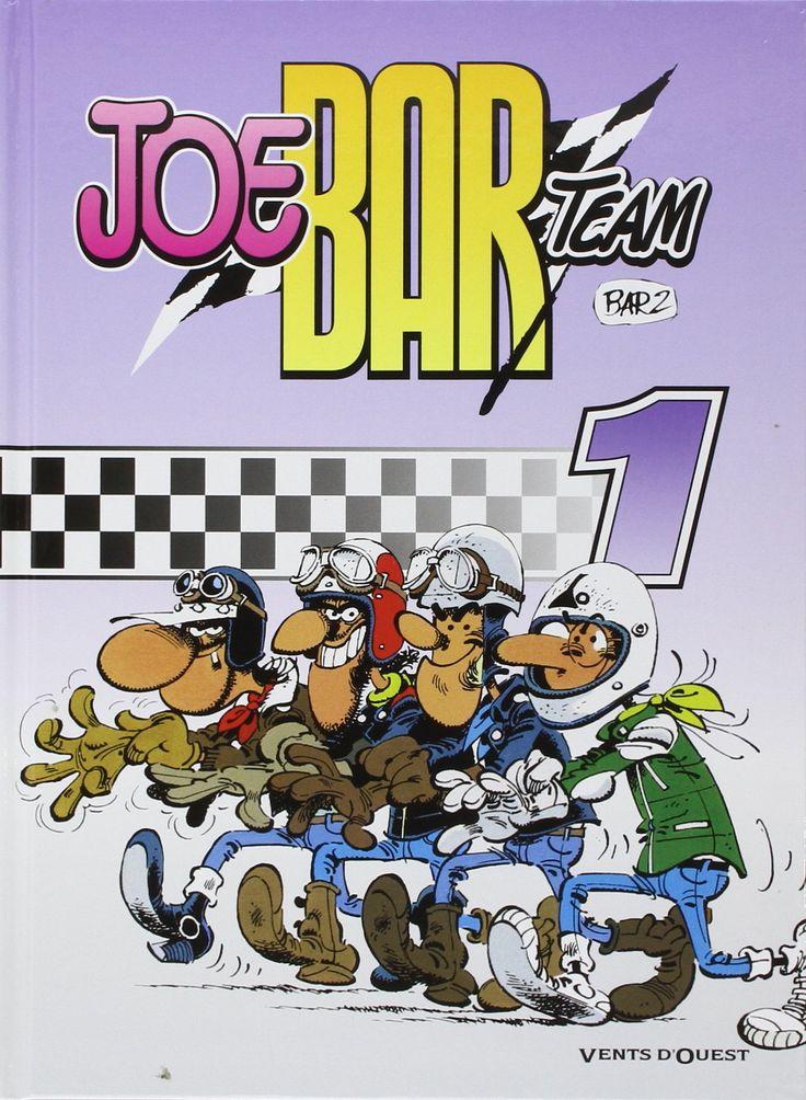 Bande dessinée de moto : Joe Bar Team