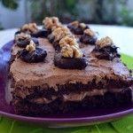 Μια εύκολη σοκολατένια τουρτίτσα για να τη φτιάξετε σε αγαπημένους και φίλους, οι γιορτές είναι πολλές μέχρι το Γενάρη. Υλικά για το παντεσπάνι 5 αβγά 1 φλιτζάνι ζάχαρη 3/4 φλιτζανιού αλεύρι για όλες τις χρήσεις 1/4 φλιτζανιού κακάο κοσκινισμένο 1/2 φλιτζάνι καρύδια κοπανισμένα 75ml μπράντι ή μαύρο ρούμι για να …