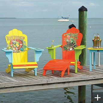Margaritaville Outdoor Adirondack Chairs ~~~