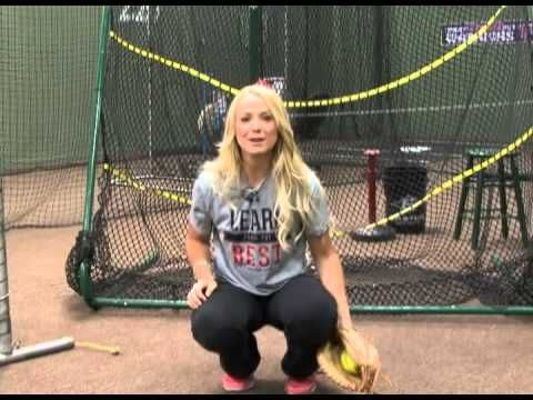 Softball Catching and Position Tips with Jen Schroeder - YouTube