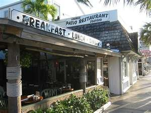 Two Friends Patio Restaurant Key West Florida. One Of The Last Original  Restaurants From Old