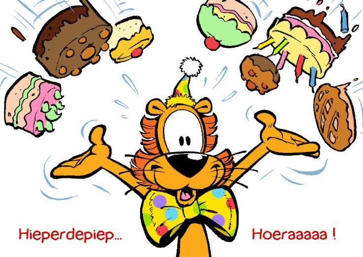 Loeki de leeuw taarten regen, verkrijgbaar bij #kaartje2go