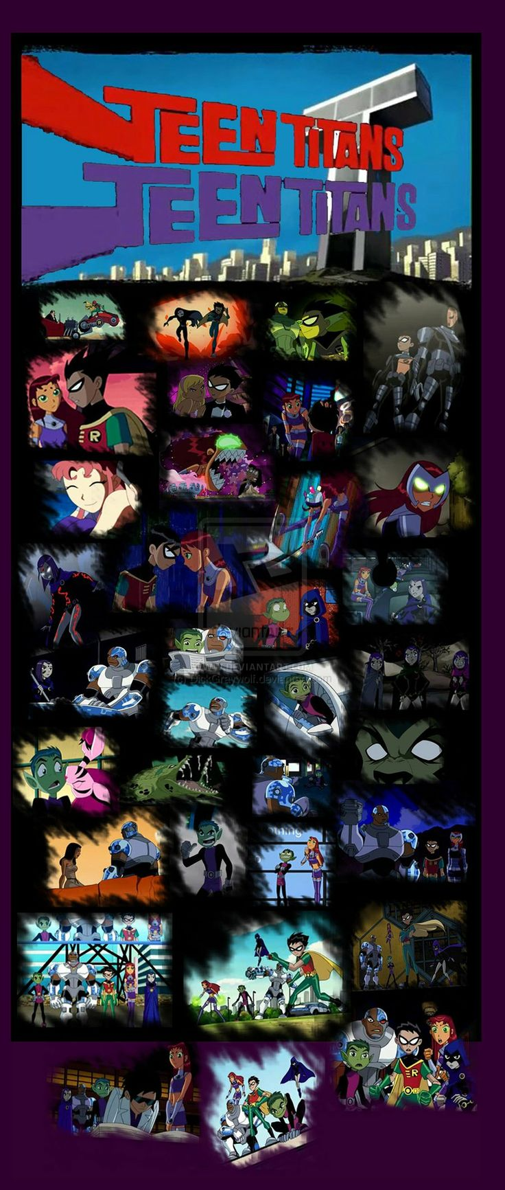Teen Titans Seson 6 by DickGraywolf on deviantART <-- THIS IS AWESOME!!!!!!!