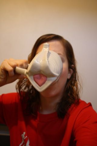 elephant cup! Need to get one of these for my coffee in the mornings at school…