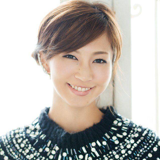 横流しの前髪がよく似合う。安田美沙子さんの髪型一覧です♡