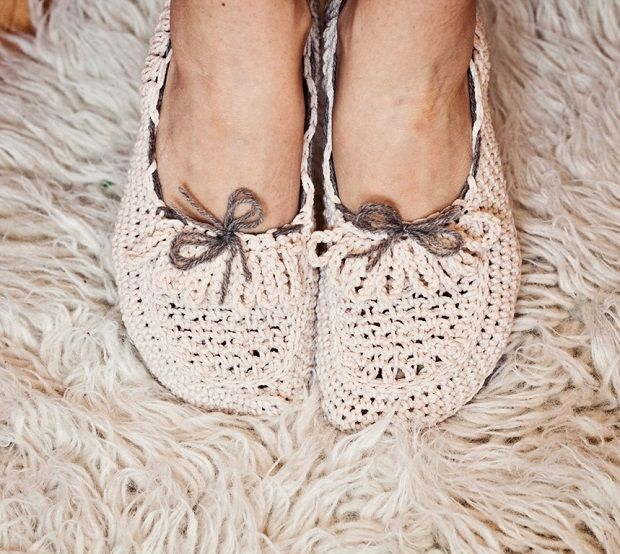 Crocheted and Knitted Slippers and Booties - MotivaNova - MotivaNova