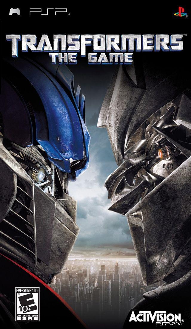 Transformers the game psp скачать