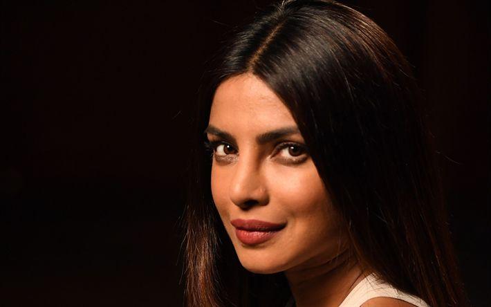 Lataa kuva Priyanka Chopra, Intialainen näyttelijä, Bollywood, kauniit silmät, meikki, Intialaiset naiset