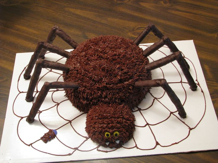 Halloween Spider Cake Decoration : 2119 best Halloween/Fall Cakes images on Pinterest ...
