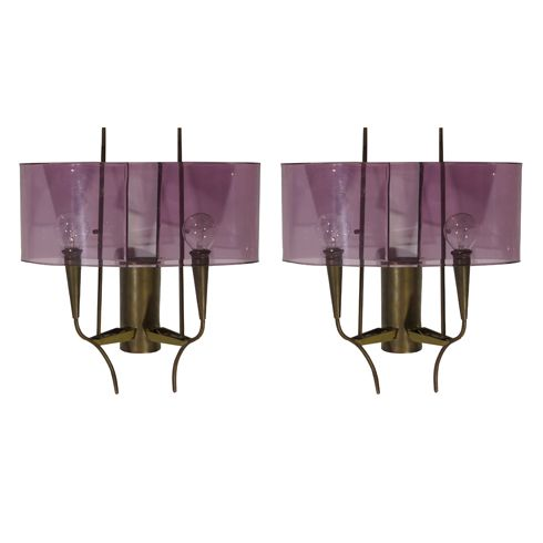 Pair of Stilux wall lamps | Cabina Design Gallery