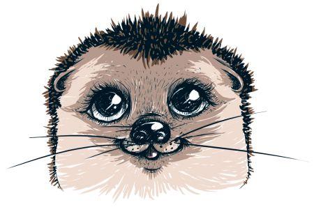 Fairy-tale hedgehog design by Sweet Beet   Teequilla