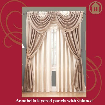 Our Annabella panels with layers. Click through to see how to create this look!