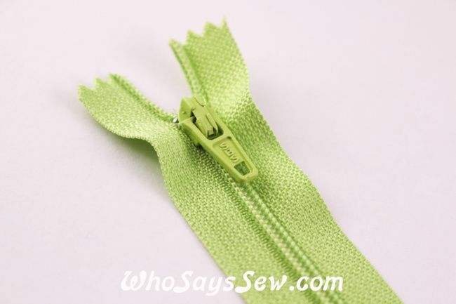 20cm Closed-ended All-Purpose Nylon Zipper in 20 Colours. Quality Brand. - Who Says Sew