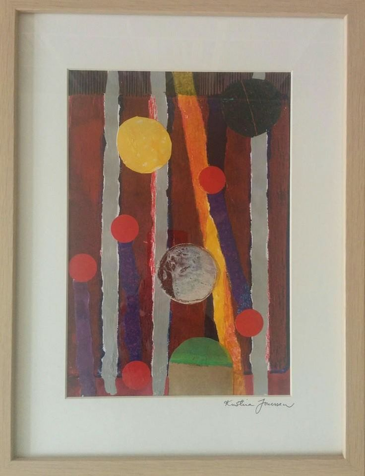 Collagegrafik 30 x 40 cm