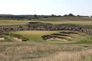 Date, Location and Qualifying Criteria for 2017 US Open: The green on the 9th hole at Erin Hills, site of the 2017 US Open golf tournament.