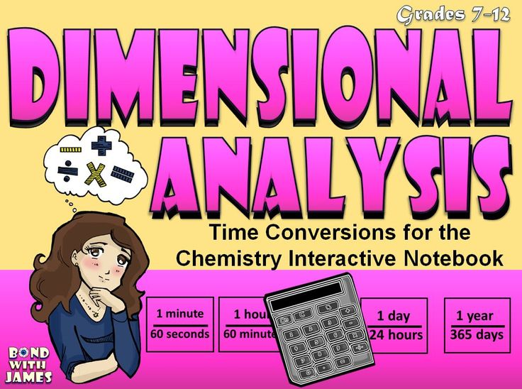 The Dimensional Analysis: Time Conversions (Notebook Cute & Paste), is a method I have used to help ease students into the concept without overwhelming them. This is presented in a manipulative format to allow students to work interactively individually, in pairs, or in groups of up to four students.