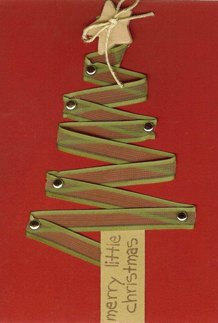 Seasons Of Joy: Deck The Trees Christmas Card-Hand Made by Brandi!