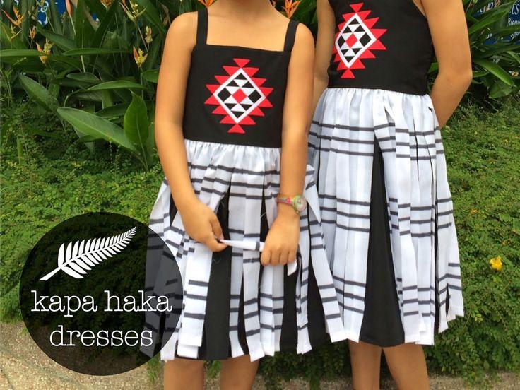 Random Crafting Adventures: Kapa Haka Dresses for Uniting Nations Week