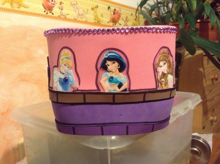 Servilletero princesas | Servilleteros princesas | Pinterest