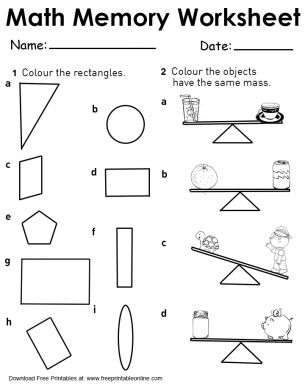 276 Best images about Free Printable Worksheets on Pinterest ...