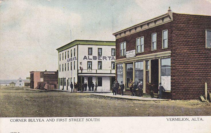 VERMILION, Alberta, Canada, PU-1903; Corner Bulyea And First Street South