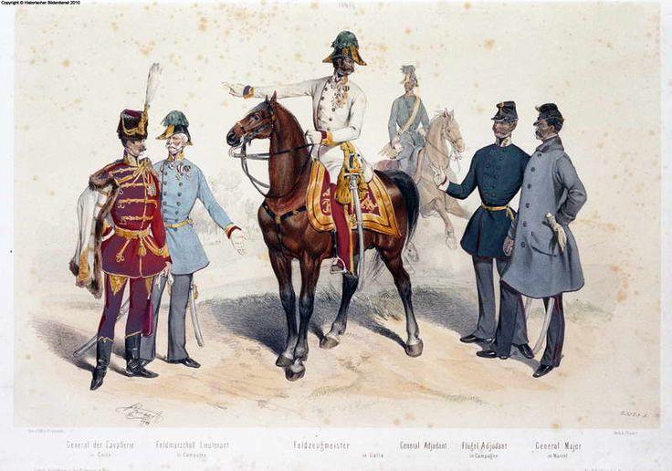 Austrian army, 1849