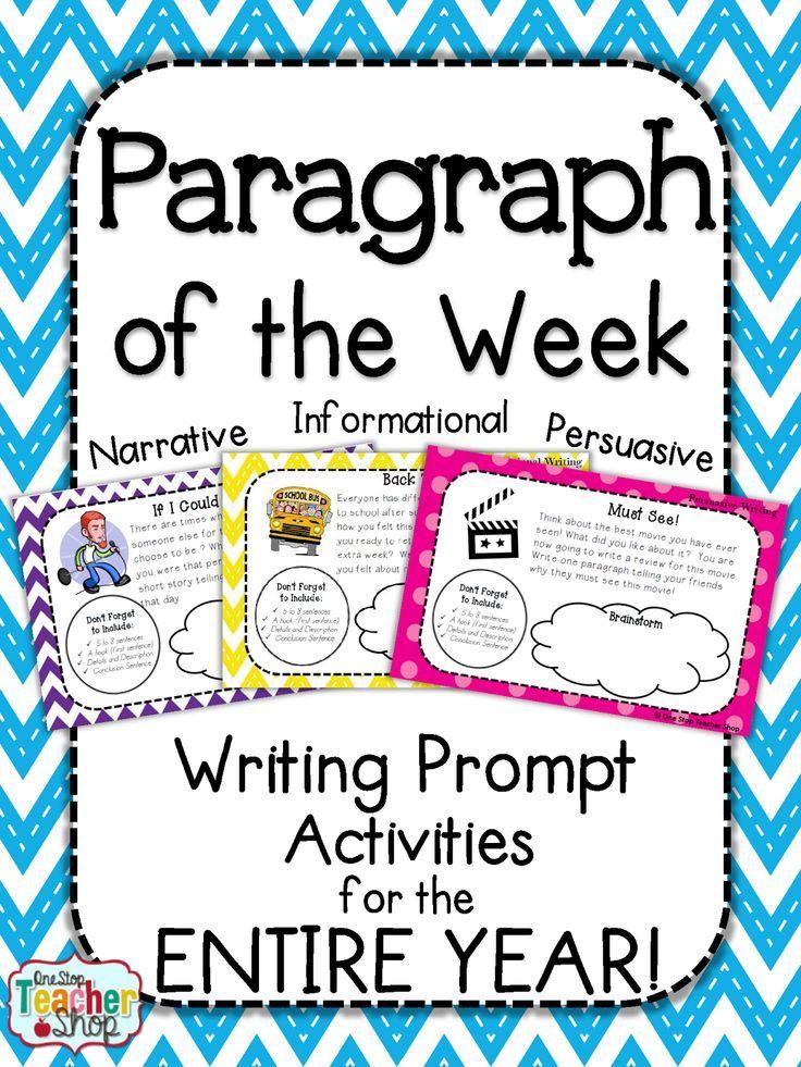 Homework writing prompts