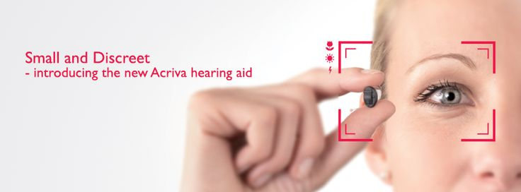Acriva is small and distric hearing aids. For more information call on 1300 308 125. #hearingaid