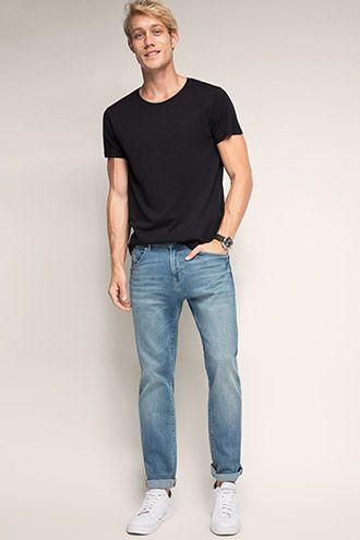 Esprit / Five-pocket stretch denim jeans