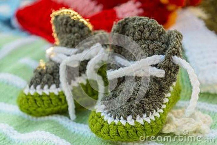Handmade Baby Bootees