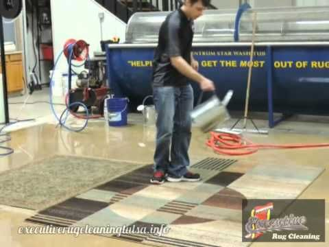 How to Dry Clean an Oriental Rug in Oklahoma City  What does the term Dry Cleaning Rugs Oklahoma City mean? The term means removing dry soil from within the rug. This process can be challenging and exhausting without the proper knowledge and equipment. Using a typical vacuum cleaner will do a great job removing the surface soil,