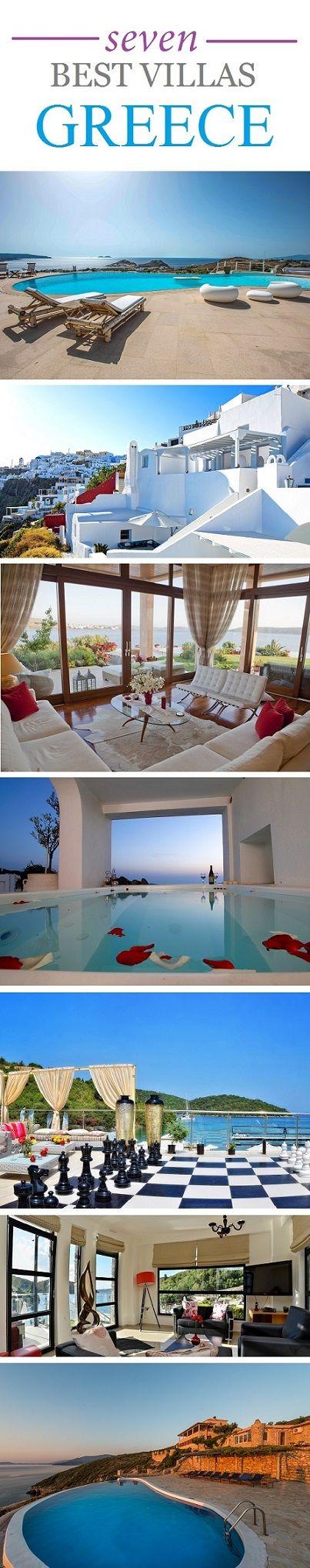 Seven Best Villas in Greece