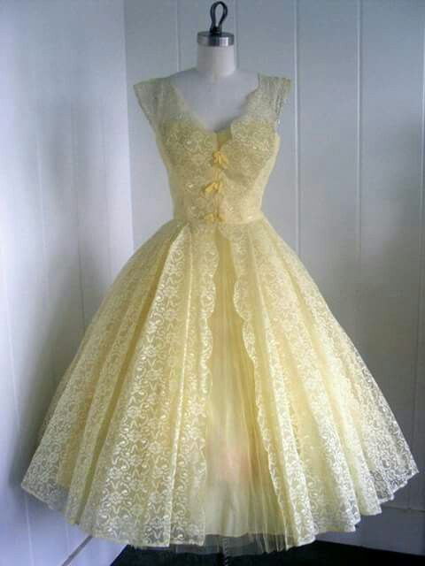 Any other color but yellow...love the dress though.