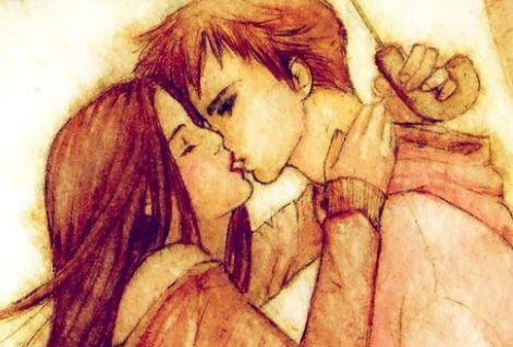 Porque besar se trata de buscar un destino y querer quedarse, aunque sea durante unos segundos. De buscar y de sentirse encontrado. De sentir su magia. Cada uno de tus besos son mágicos amor, te amo.