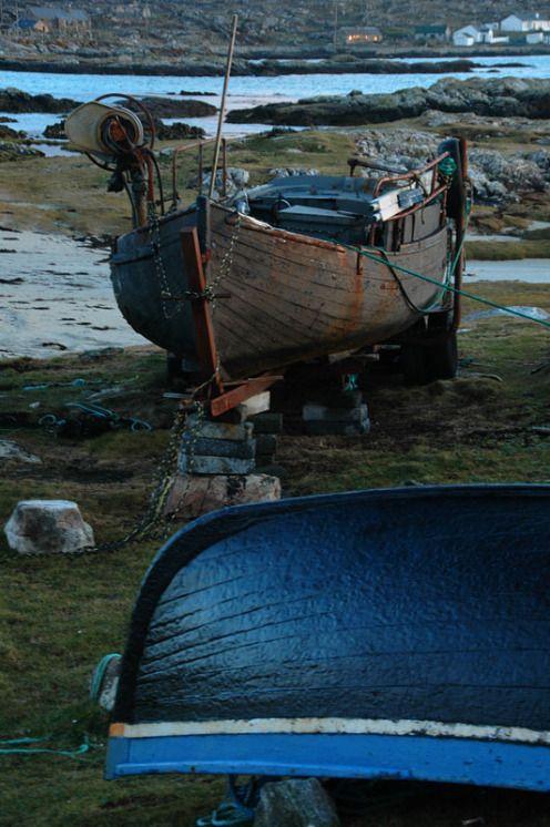 Båter i Connemara