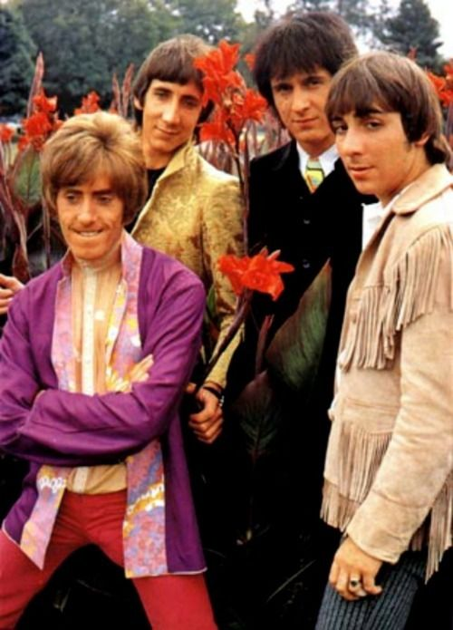 Wait--Keith's got the fringe instead of Roger?  And Roger's wearing purple? Alternative universe?