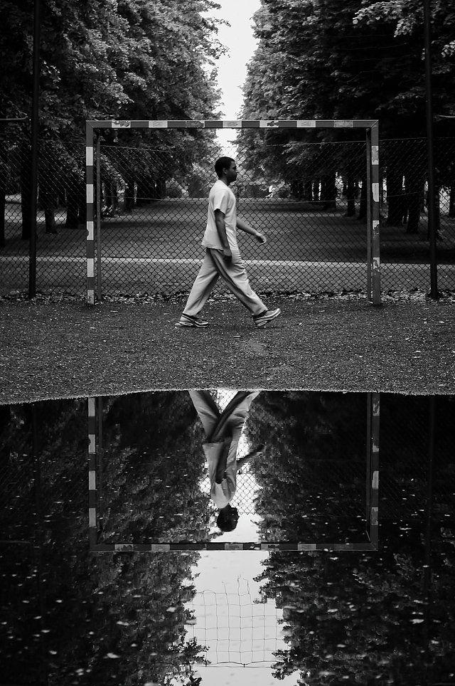 BW streetphotography à Paris