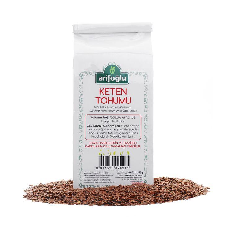 Keten Tohumu - Arifoğlu - Şifalı Bitkiler - Organik - Oraganic - Spices - Bitkisel Yağlar - Bitki Çayı - Honey - Bal - Türk Mutfağı