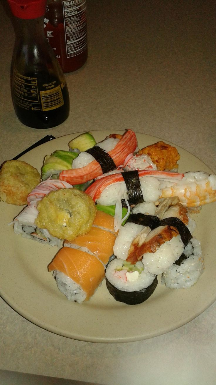 """[I ate] We found a Chinese buffet with the """"highest quality"""" sushi I've ever had at a Chinese buffet."""