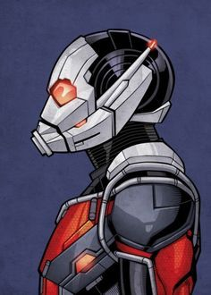 Marvel Ant-Man metal poster - PosterPlate posters made out of metal