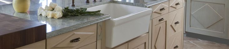 Fireclay farmhouse sinks are our specialty. We have been selling Fireclay farm sinks online for almost a decade now, and they are the most sought after farm sinks in the US and throughout the world. These sinks are produced in a fascinating way using extremely high heat that imbues the sink with it's amazing qualities. Fireclay farm sinks are extremely durable, scratch and chip resistant, not ot mention that they provide a beautiful vintage look to any kitchen, be it your home, a restaurant…