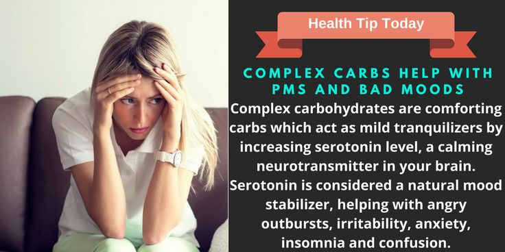 Complex Carbs Help With PMS and Bad Moods