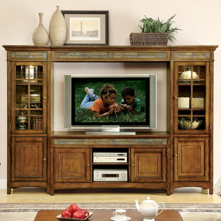 28 Great Craftsman Living Room And Family Design Ideas Large Entertainment CenterCraftsman