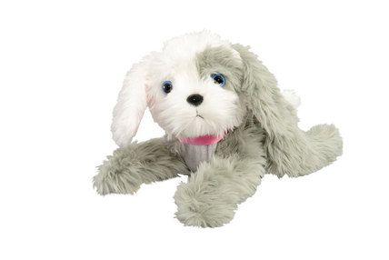 Pehmolelut - TILLY KOIRA ANIMAGIC - Keravan Muovi ja Lelu Oy Kutiseva Tilly. Kun kutitat Tilly-koiraa vatsasta, koiranetutassut liikkuvat. Kun laitat koiran selälleen, sehaukkuu ja heiluttaa iloisesti häntäänsä.