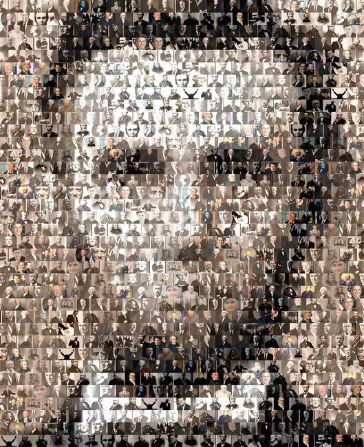 Quot Abraham Lincolnamazing Montage Mosaic Illusion Quot By Paul