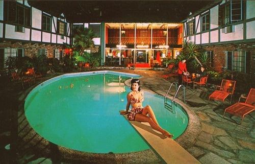 Cockatoo Hotel and Restaurant Hawthorne California 1960s  Edge and corner wear