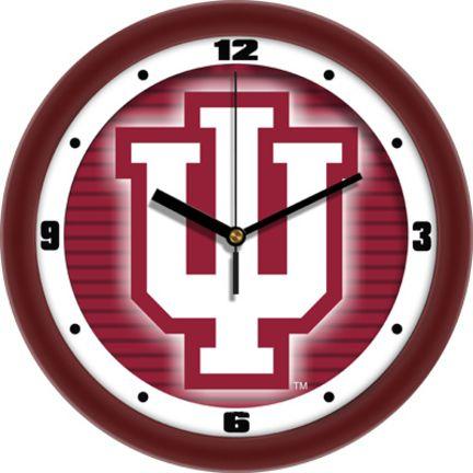 Indiana Hoosiers 12 inch Dimension Wall Clock