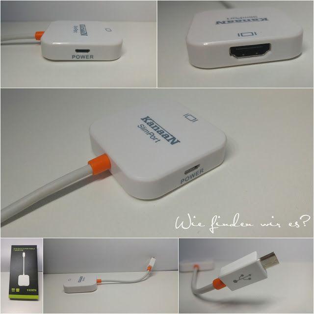 Wie finden wir es ???  : KanaaN MyDP Slimport zu HDMI Adapterkabel von Leic...