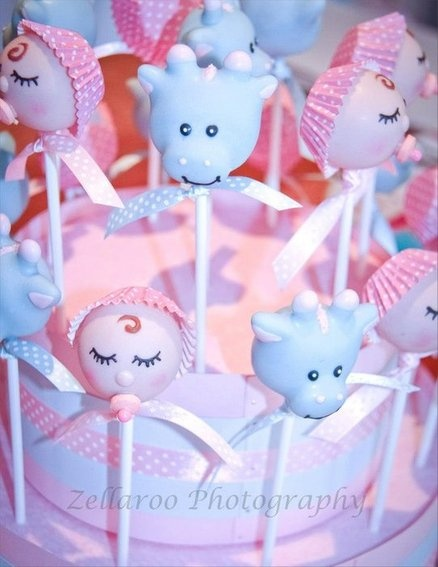 1st Birthday Baby cake pops  Cake by CreativeCakepops