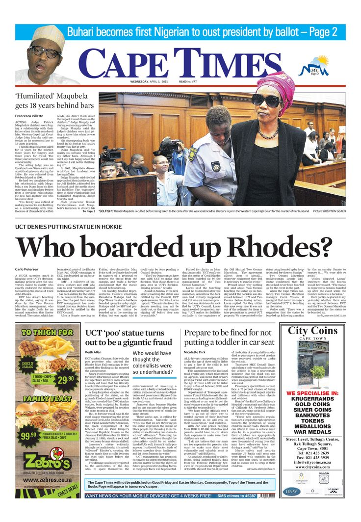 News making headlines: Who boarded up Rhodes?